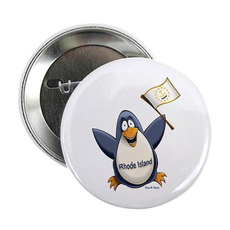 """Rhode Island Penguin 2.25"""" Button (100 pack)"""