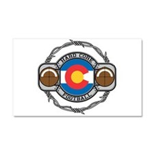Colorado Football Car Magnet 20 x 12