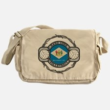 Delaware Volleyball Messenger Bag