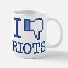 I DISLIKE RIOTS Mug