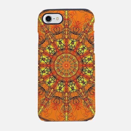 Harmony in Orange iPhone 7 Tough Case