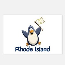 Rhode Island Penguin Postcards (Package of 8)