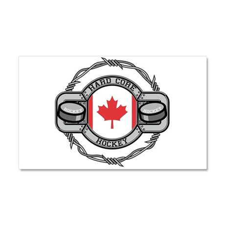 Canada Hockey Car Magnet 20 x 12