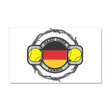 Germany Tennis Car Magnet 20 x 12