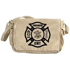 Firefighter EMT Messenger Bag