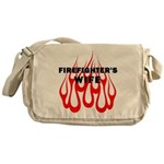 Firefighters Wife Messenger Bag