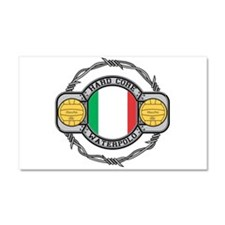 Italy Water Polo Car Magnet 20 x 12