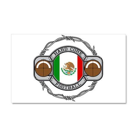Mexico Football Car Magnet 20 x 12