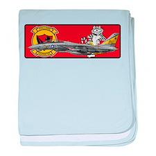 VF-302 Stallions baby blanket