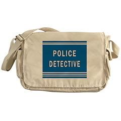 Police Detective Blues Messenger Bag