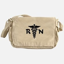 RN Medical Symbol Messenger Bag