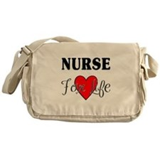 Nurse For Life Messenger Bag