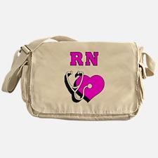 RN Nurses Care Messenger Bag