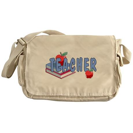 Teachers Books Messenger Bag