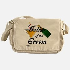 Wedding Toast Father of the Groom Messenger Bag