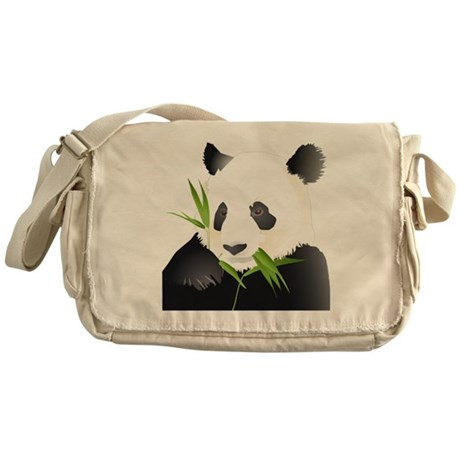 Panda Bear Messenger Bag