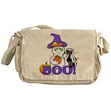 Halloween Ghost Messenger Bag
