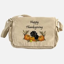 Happy Thanksgiving Messenger Bag
