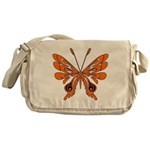 'Butterfly Tattoos Messenger Bag