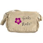 Girls Rule Messenger Bag