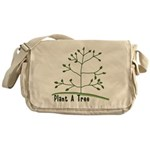 Plant A Tree Messenger Bag