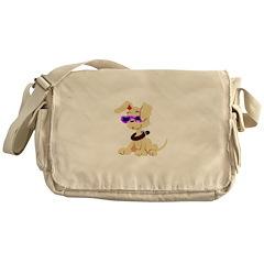 Cool Puppy Messenger Bag