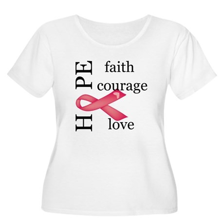 AIDS awareness Women's Plus Size Scoop Neck T-Shir