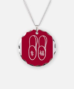 Chinese slippers design Necklace