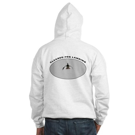 Duck with Cupped Wings Hooded Sweatshirt