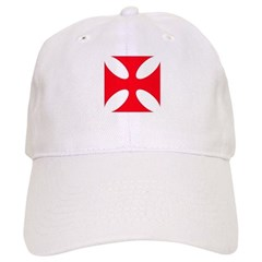 templar cross Baseball Cap