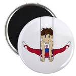 "Cute Gymnast 2.25"" Magnet (10 Pk)"