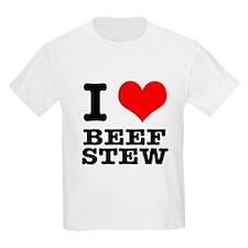 I Heart (Love) Beef Stew T-Shirt