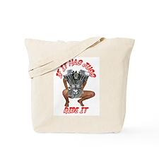 BIKER JUG MANIA/IRON CROSS Tote Bag