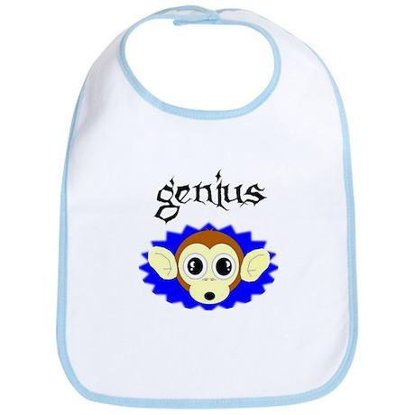 monkey genius Bib