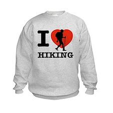 I love Hiking Sweatshirt