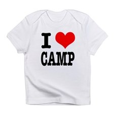 I Heart (Love) Camp Infant T-Shirt