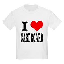 I Heart (Love) Cardboard T-Shirt