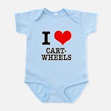 I Heart (Love) Cartwheels Infant Bodysuit