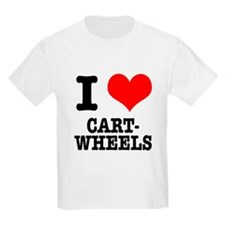 I Heart (Love) Cartwheels T-Shirt