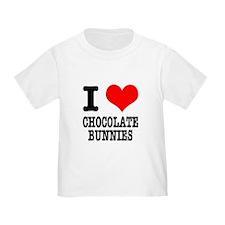 I Heart (Love) Chocolate Bunn T