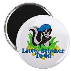 Little Stinker Todd Magnet