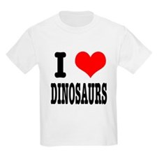 I Heart (Love) Dinosaurs T-Shirt
