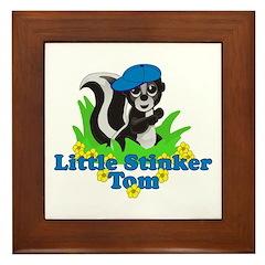 Little Stinker Tom Framed Tile
