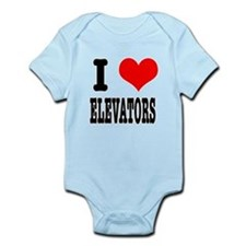 I Heart (Love) Elevators Infant Bodysuit