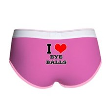 I Heart (Love) Eyeballs Women's Boy Brief