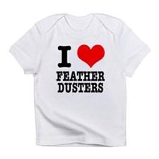 I Heart (Love) Feather Duster Infant T-Shirt