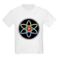 Midnight Rainbow Atom Kids T-Shirt