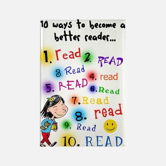 Read Better Rectangle Magnet (10 pack)