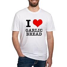I Heart (Love) Garlic Bread Shirt