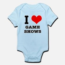 I Heart (Love) Game Shows Infant Bodysuit
